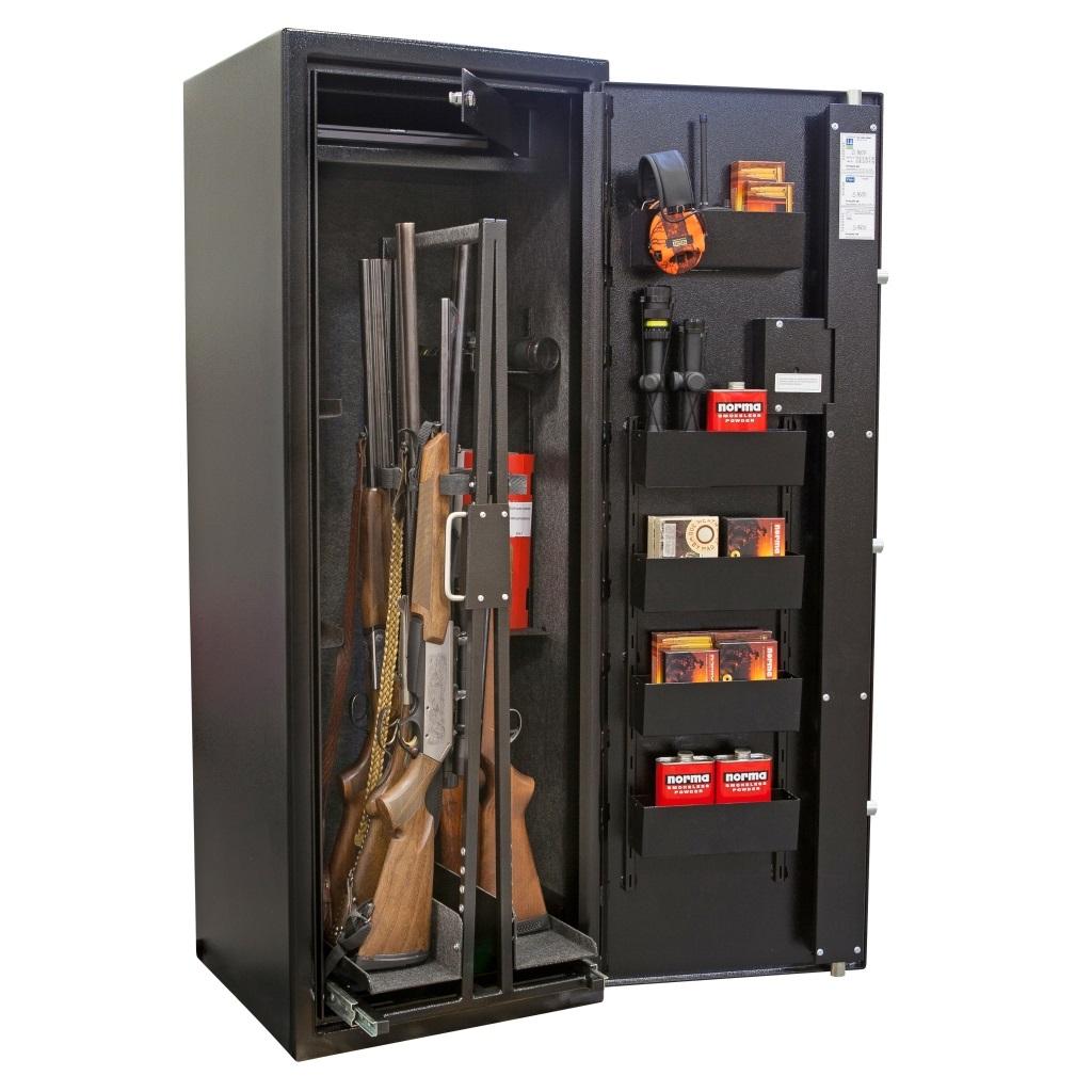 Bjørke PS S1600-12WE FG-godkjent Våpenskap